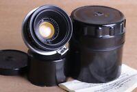 Jupiter-12 35mm f/2.8 Lens in Kiev-Contax mount, Kiev camera Soviet