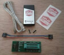 ICSP Adapter ZIF 28 PIC w/ Authentic PICkit 4 USB Programmer