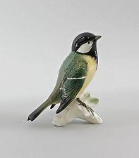 Figura In Porcellana Uccello Cinciallegra Ens H11cm 9997558