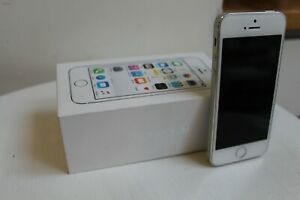 Apple iPhone 5s - 16GB - Silver (Unlocked) A1457 (GSM)