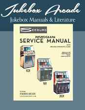 Seeburg Models 101, 161, 201 Service Manual & Troubleshooting Guide Revised 2017