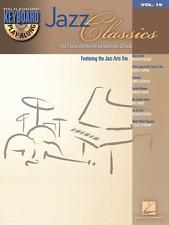 """Jazz Classics"" Keyboard Play-Along Volume 18 Music Book/Cd-Brand New On Sale!"