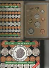 1991 PROOF SET - ROYAL AUSTRALIA MINT - IN BOX WITH CERTIFICATE