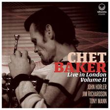 Chet Baker : Live in London - Volume II CD 2 discs (2018) ***NEW*** Great Value
