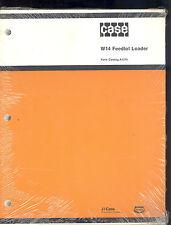 1979 J I CASE PARTS MANUAL W-14 FEEDLOT LOADER / A1370
