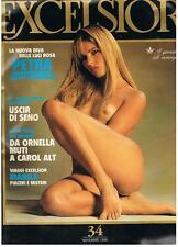 EXCELSIOR 34 - 11/1988 - PETRA - CAROL ALT - ORNELLA MUTI - SABRINA SALERNO