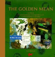 THE GOLDEN MEAN by Nick Bantock FREE SHIPPING hardcover book Griffin Sabine