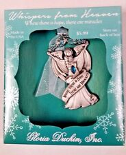 "Whispers From Heaven Angel "" Where there is Hope "" Collectible Ornament"