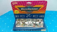 Vintage 1987 Galoob Micro Machines Aircraft II Collection New In Box Sealed Mint