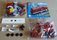 LEGO 7938 Testa posteriore treno passeggeri rosso vagone città city train