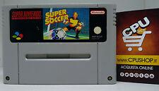 Super Nintendo - SUPER SOCCER by Nintendo - Buone Condizioni - Testato