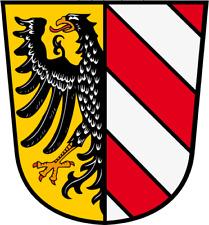 Markenqualität Saale Wappen von Halle Aufbügler Bügelbild