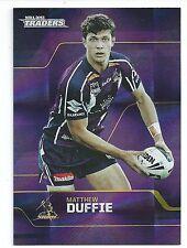 2013 NRL Traders Base Card 75 Matthew DUFFIE Melbourne Storm