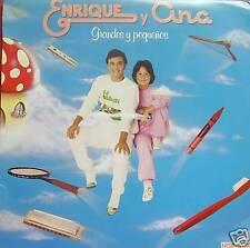 ENRIQUE Y ANA-GRANDES Y PEQUEÑOS LP VINILO 1983 REGULAR COVER