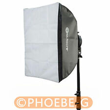 "Photo Studio Softbox with Bowens Mount for Mini Flash Strobe 60x60cm 24""x24"""