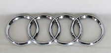 AUDI TRUNK EMBLEM A4 S4 RS4 A6 S6 A3 TT BACK OEM CHROME BADGE sign symbol logo