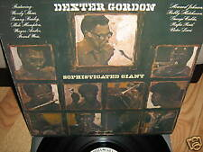 DEXTER GORDON ~ Sophisticated Giant lp RARE PROMO EX-NM