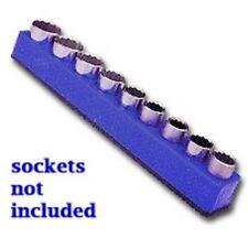"""Mechanics Time Saver 1280 1/2"""" Drive Magnetic Blue Socket Holder   10-19mm"""