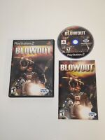 BlowOut (Sony PlayStation 2, 2003) PS2 Complete CIB W/ Manual