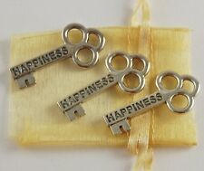 Happiness Mini Key Set of 3 with Organza Bag