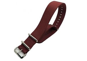 NATO ® strap watch band G10 nylon Military RAF stitch bond replacement IW SUISSE