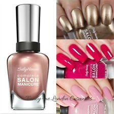 Sally Hansen Complete SALON Manicure Nail Polish ALLNEW COLOURS BUY 2 GET 1 FREE