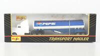 MAISTO 1:87 Transport Hauler US Truck Tank-Sattelzug Pepsi, OVP