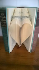 Heart Folded Book Art Perfect unique love gift Anniversary wedding 3D Birthday