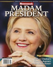 RECALLED NEWSWEEK MADAM PRESIDENT HILLARY CLINTON 8x10 FULL COLOR PHOTO POSTER