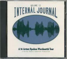 Internal Journal Volume II - rare CD - A 14 Artist Spoken Wordsmith Tour