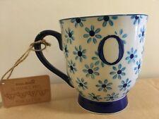 Floral O Name Mug Oscar Oliver Olive Olivia Ollie Oisin Ophelia Osian Olaf Olga