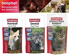 Beaphar Urinary Tract Support Dental Hairball Easy Treat For Cat & Kitten 35g