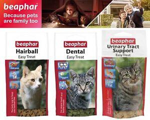 Beaphar Urinary Tract Support Dental Hairball Easy Treat For Cat & Kitten 35g