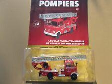 n° 81 MERCEDES LP 319 Camion POMPIER Echelle Pivotante Manuelle de 18 m 1/43
