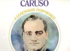 ENRICO CARUSO disco LP A LEGENDARY PERFORMER 1976 stampa AMERICANA sigillato