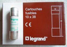 legrand Cartouches fusibles 10 x 38 Sicherungen 10 Stück