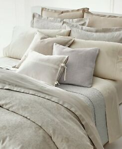 Ralph Lauren Alene 7P King Duvet Cover Shams Set $1205