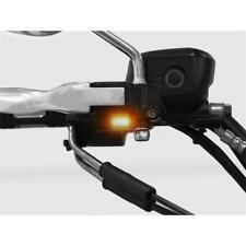 LED Blinker Lenker Armaturen Blinker für Harley Davidson Typ 5 silber