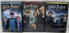 3 PC LOT HARRY POTTER DVDs~ORDER OF PHOENIX~PRISONER OF AZKABAN~GOBLET OF FIRE
