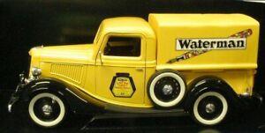 Solido 7169 Ford 1936 Pickup Truck - WATERMAN - 1/18 France Die-cast MIB