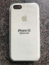 Apple iPhone 5 5s / SE Silicon Case Great Handling Original Cover Antique White