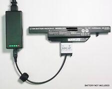 External Laptop Battery Charger for Clevo W540EU W550EU W550SU Series, W540BAT-6