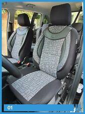 VW TOURAN ab 2003 Maß Schonbezüge Sitzbezug Sitzbezüge Fahrer /& Beifahrer G685