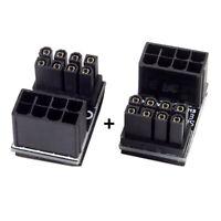 ATX 8Pin-Buchse auf 8-Pin-Stecker 180 ° für Desktops-Grafikkarte GE