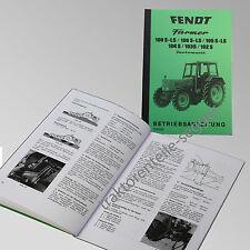 Fendt Betriebsanleitung Farmer 108S-LS 106 S-LS 105 S-LS 104S 103S 102S 500006