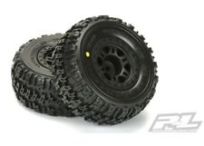 NEW Pro-Line Traxxas Slash Front Trencher X SC M2 Mounted Tire / Wheel Set (2...