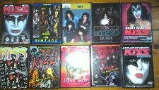 KISS DVD Collection Live, Interviews & Videos
