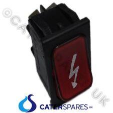 Interruptor rojo encendido SYMBOL Encendido Apagado Doble Polo 22X31MM 230 V 4 Pin