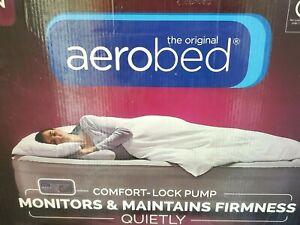 The Original AeroBed One-Touch Comfort Air Mattress - Queen  OPEN BOX