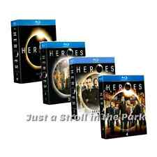 Heroes: The Complete TV Series Seasons 1 2 3 4 Box / BluRay DVD Set(s) NEW!